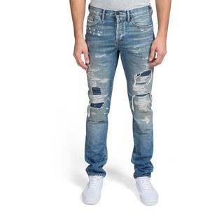 PRPS Le Sabre Rip & Repair Slim Fit Jeans