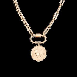 Lioness Pendant Necklace