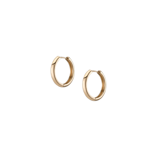 Lioness Gold Hoop Earrings