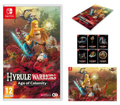 Hyrule Warriors Age Of Calamity Nintendo Switch Deals At Launch