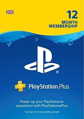 PlayStation Plus (UK) 12-month membership