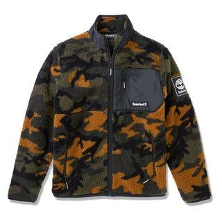 Timberland Camo Recycled Fleece Jacket