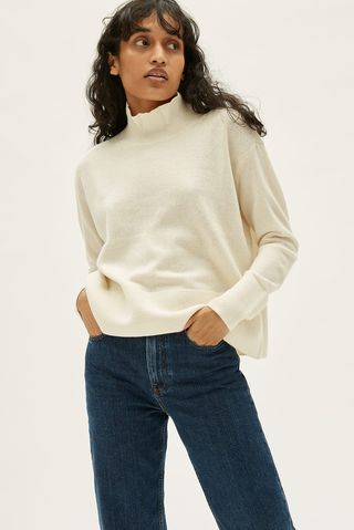 The Cashmere Square Turtleneck