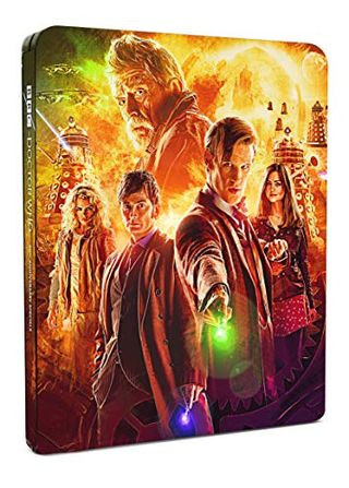 دكتور هو - كتاب الصلب للذكرى الخمسين [Blu-ray] [2021]    (نسخة محدودة)