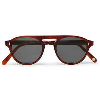 Tonbridge Aviator-Style Acetate Sunglasses
