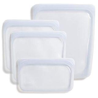 Stasher Reusable Storage Bag 4-Pack
