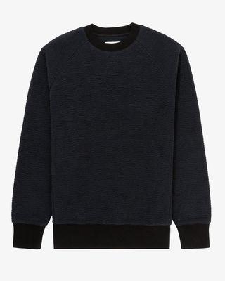 Deep Pile Crewneck Sweatshirt