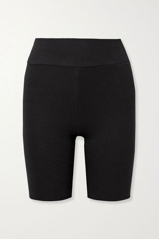 Mackay Ribbed Stretch Jersey Shorts