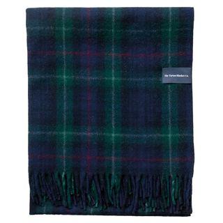 Recycled Wool Blanket In Mackenzie Tartan