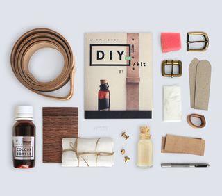Diy Belt Kit - Dark Brown