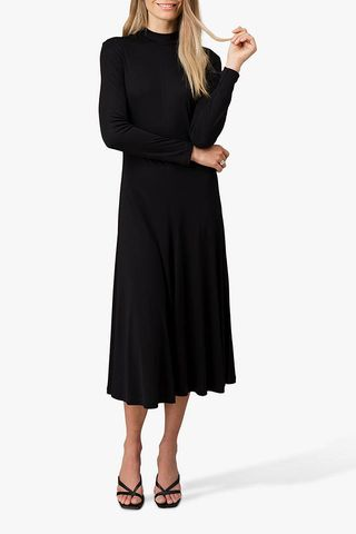 Long Sleeve A-Line Midi Dress, £84