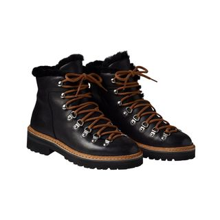 W Dolomite Boot with Shearling