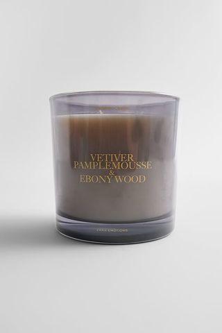 Vetiver Pamplemousse & Ebony Wood Aromatic Candle 22.5 Oz