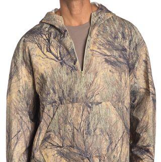 Yeezy Hooded Quarter-Zip Sweatshirt