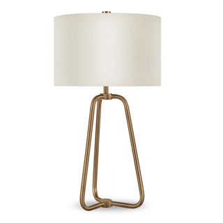 Meyer&Cross Marduk 25-1/2 in. Brass Table Lamp