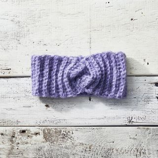 Twisted Crochet Headband