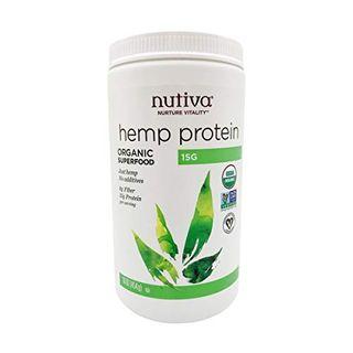 Organic Cold-Pressed Hemp Seed Protein Powder