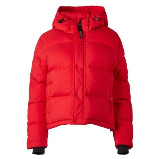 Goose-Down Puffer Jacket