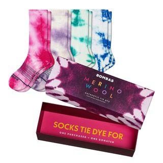 Women's Merino Tie Dye Gift Box
