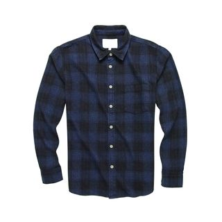 Corridor Recycled Plaid Flannel Shirt