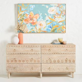 Delhi Six-Drawer Dresser