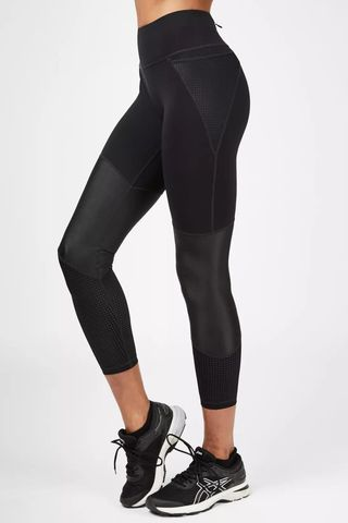 Power Mesh 7/8 Workout Leggings