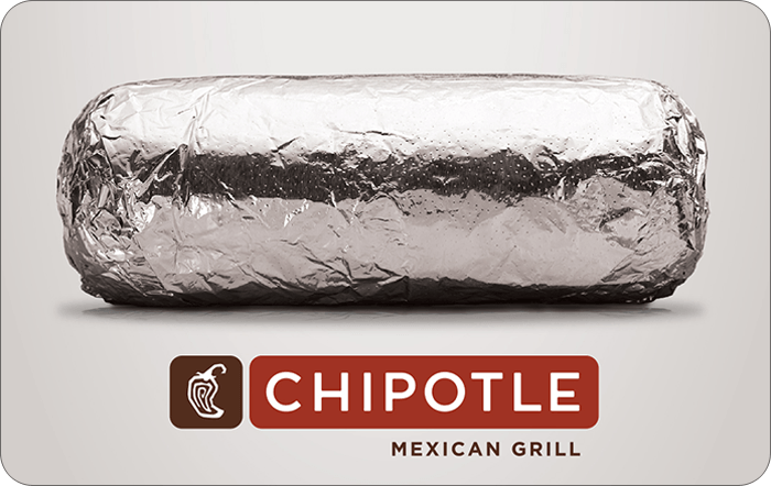 where to buy chipotle gift cards