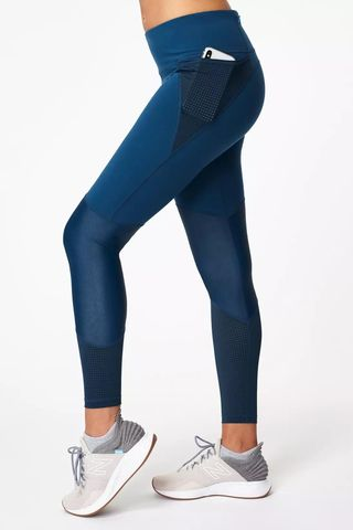 Power Mesh Workout Leggings