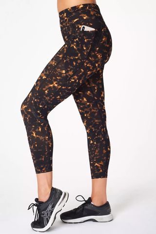 Zero Gravity High Waisted 7/8 Running Leggings