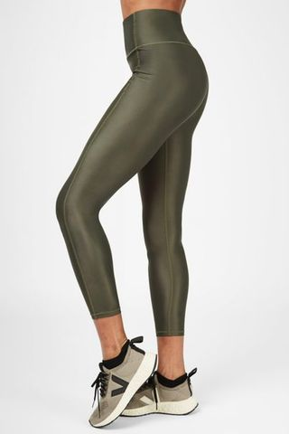 High Shine High Waisted 7/8 Leggings