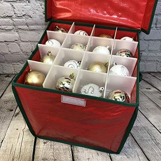 Christmas Bauble Decorations Storage Box (Set of Two)