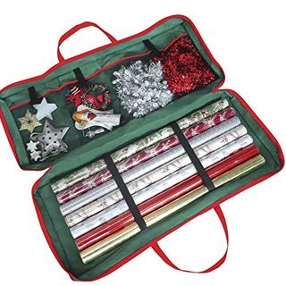 Wrap Fabric Storage Bag For Paper, Tags & Bows