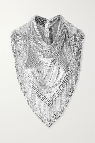 Pixel XL fringed chainmail scarf