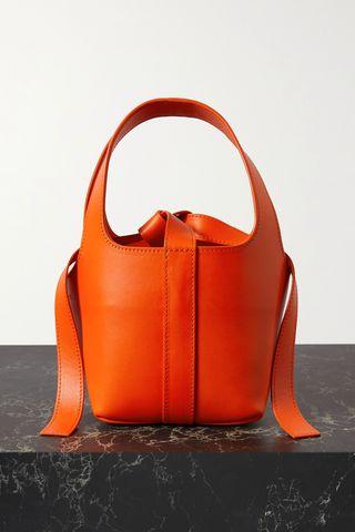 Bento leather tote