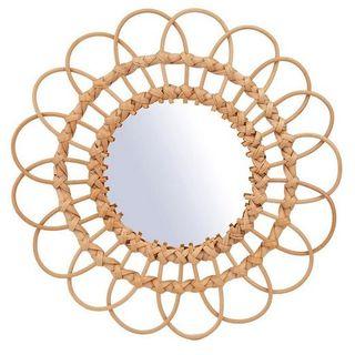 Sass & Belle Rattan Mirror