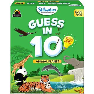 Skillmatics Guess in 10 Animal Planet