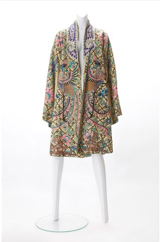 1920s Embroidered Robe