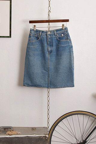 Vintage Calvin Klein Denim Skirt