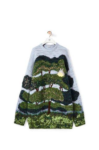 Totoro Crafty Tree Sweater
