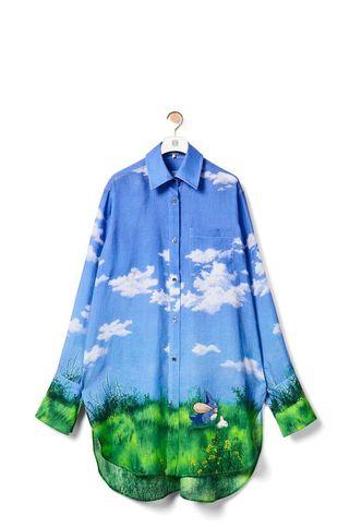 Landscape Totoro Shirt