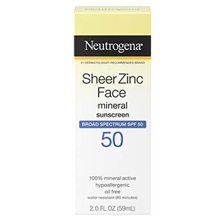 SheerZinc Mineral Sunscreen SPF 50