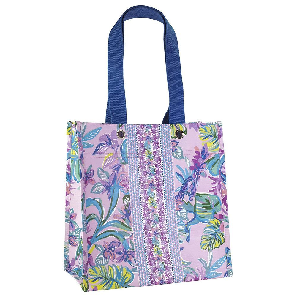 Bag Embroidered on BOTH sides Purse Lettuce Tote Eco Friendly
