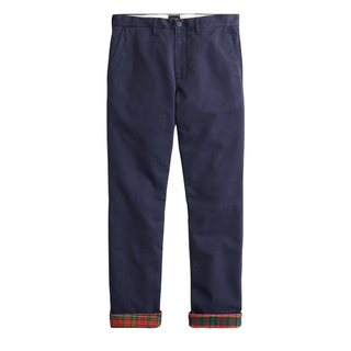 J.Crew 770 Straight-fit Flannel-lined Cabin Pant