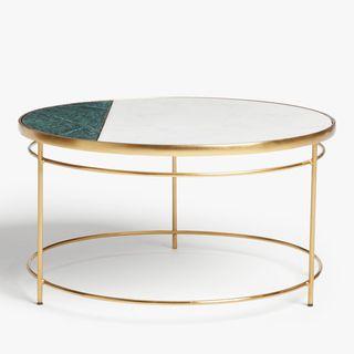 John Lewis + Swoon Marble Coffee Table, John Lewis, £350