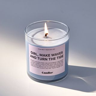 Ryan Porter Text Candle