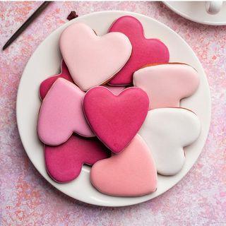 Pink Red White Valentine Hearts