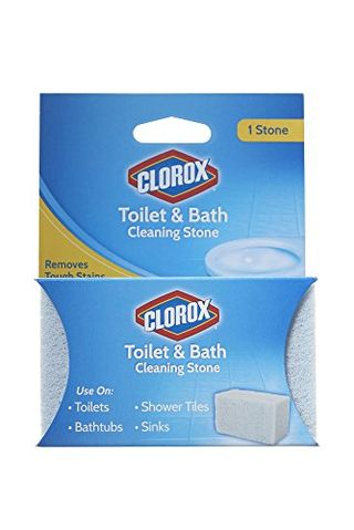 Clorox Toilet & Bath Cleaning Stone, White