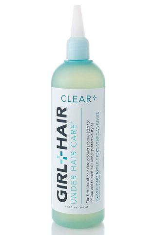 GIRL+HAIR Clear+ Apple Cider Vinegar Clarifying Rinse