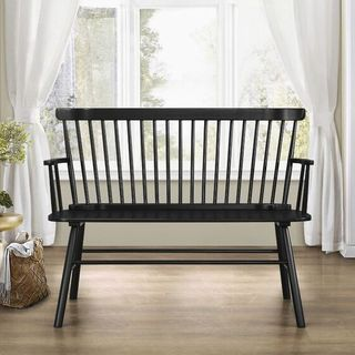 Carnany Lower Solid Wood Bench