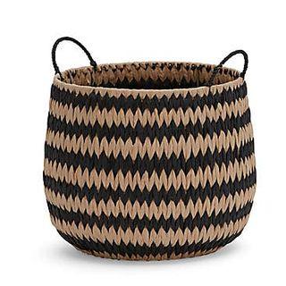 Monochrome Paper Storage Basket